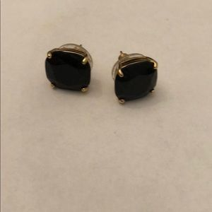Kate Spade ♠️ Black stud earrings
